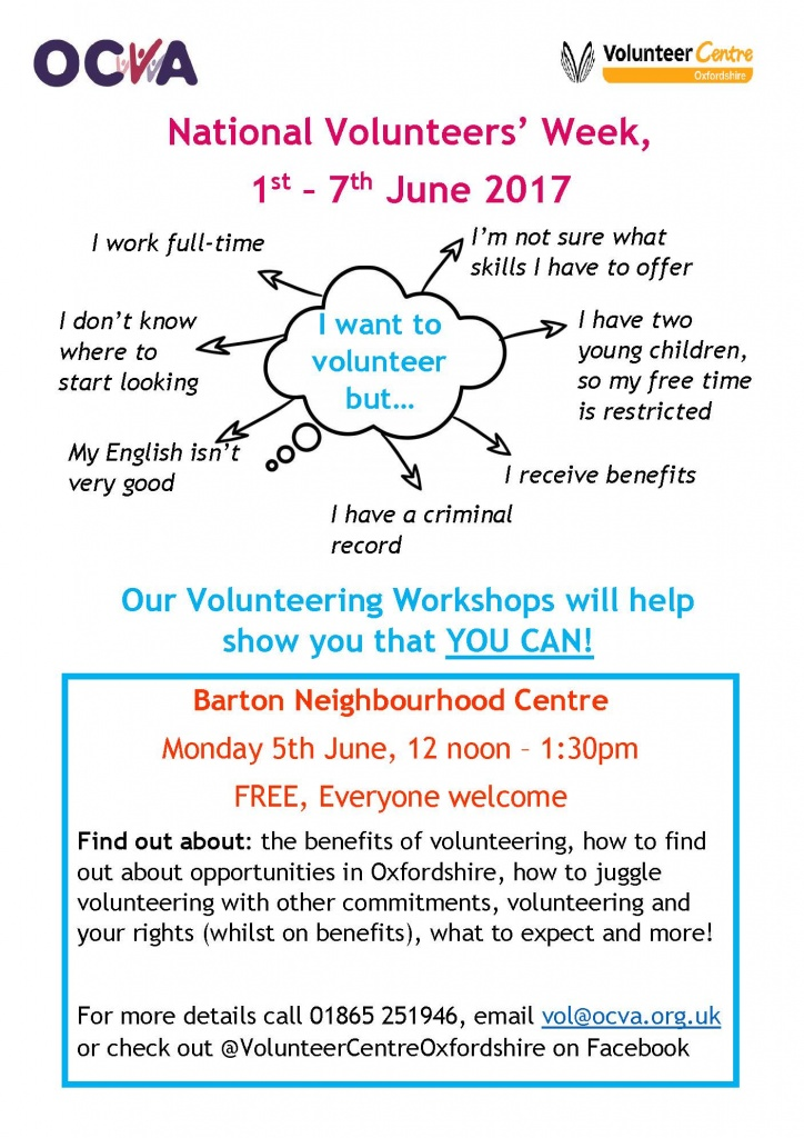 Volunteers week 2017